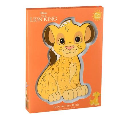 Toys & Games - Disney Simba Number Puzzle - Image 1