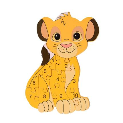 Toys & Games - Disney Simba Number Puzzle - Image 2