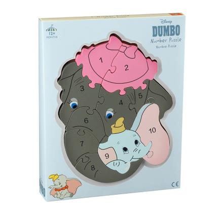 Toys & Games - Disney Dumbo Number Puzzle - Image 1