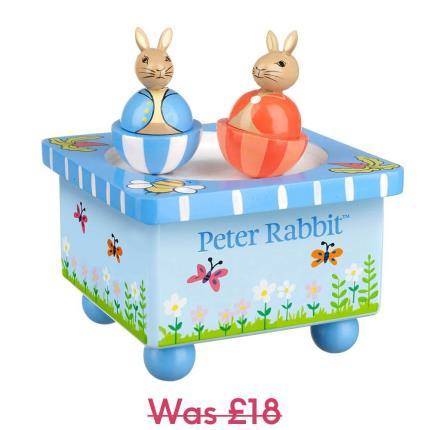 Toys & Games - Peter Rabbit Music Box - Image 1