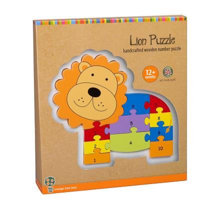 Toys & Games - Lion Number Puzzle - Image 1