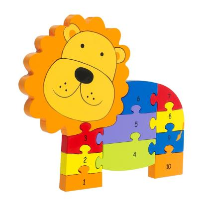 Toys & Games - Lion Number Puzzle - Image 3