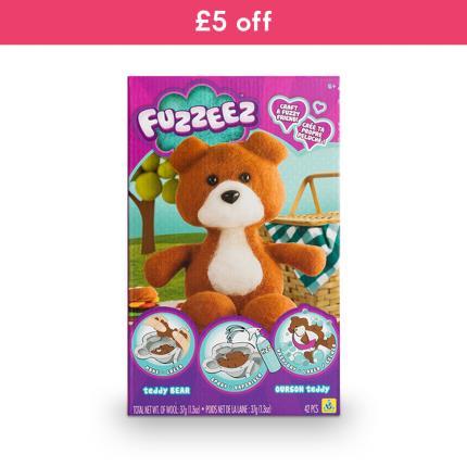Toys & Games - Fuzzeez Bear - WAS £15 NOW 10 - Image 1