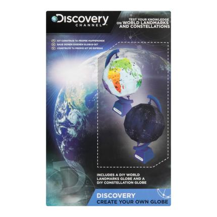 Toys & Games - Discovery Channel Create Your Own Globe - Image 1