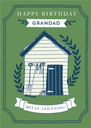 Greeting Cards - Birthday card - Garden Shed - Grandad - Image 1