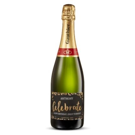 Alcohol Gifts - Exclusive Personalised Gauthier Champagne - Image 1
