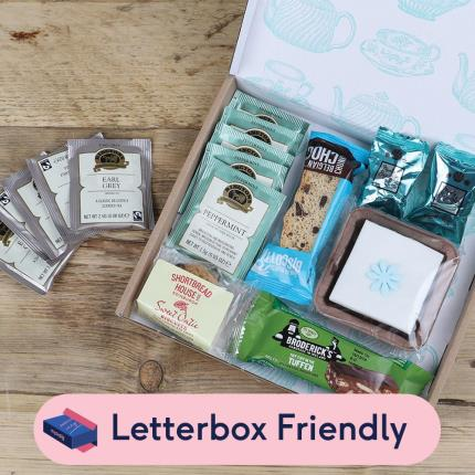 Letterbox Gifts - Afternoon Tea Letterbox Gift - Image 1