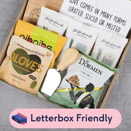 Letterbox Gifts - Cheese Lover Letterbox Gift - Image 1