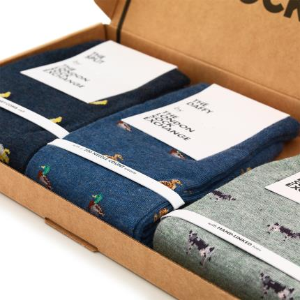 Letterbox Gifts - The London Sock Exchange Printed Socks Gift Box - Image 2
