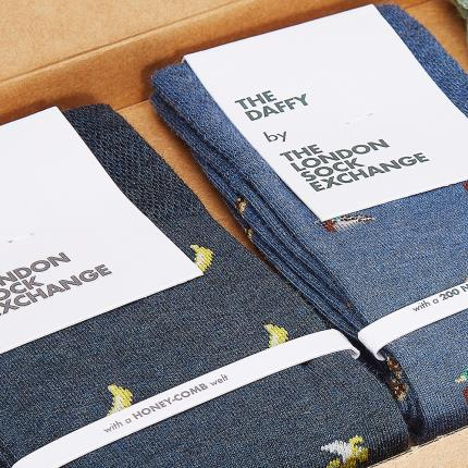 Letterbox Gifts - The London Sock Exchange Printed Socks Gift Box - Image 3