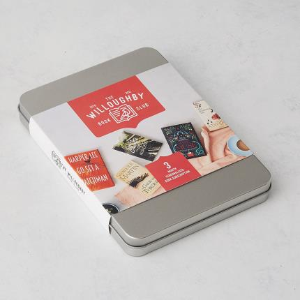 Letterbox Gifts - The Willoughby Book Club 3-Month Book Subscription Gift - Image 1