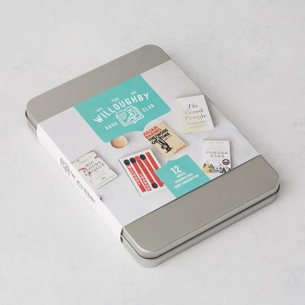 Letterbox Gifts - The Willoughby Book Club 12-Month Book Subscription Gift - Image 1