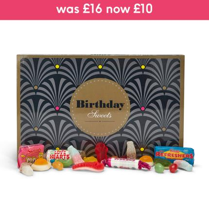 Letterbox Gifts - Sweets in the City Happy Birthday Letterbox Gift - Image 1