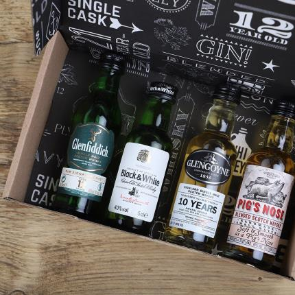 Letterbox Gifts - Blended Malt Whisky Letterbox Gift - Image 1