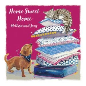 Greeting Cards - Ling design - Home Sweet Home - Image 1