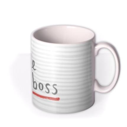 Mugs - Like A Boss Personalised Mug - Image 2