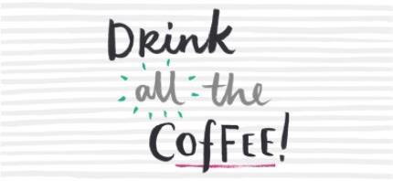 Mugs - Drink All The Coffee Personalised Mug - Image 4
