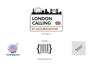Greeting Cards - London Skyline Birthday Card - Image 4