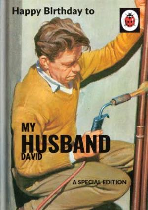 Greeting Cards - Ladybird Books for Grown-Ups Birthday Card for Husband - Image 1