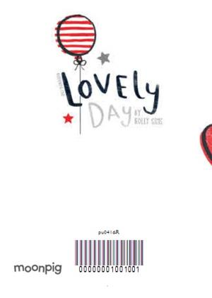 Greeting Cards - Hearts And Stripes Personalised Photo Upload Happy Valentine's Day Card - Image 4