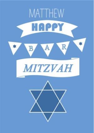 Greeting Cards - Bar Mitzvah Card - Image 1
