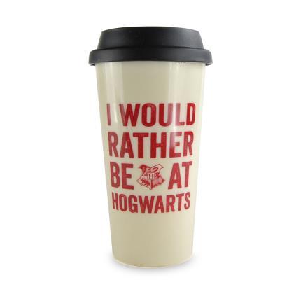 Gadgets & Novelties - I'd Rather Be At Howarts Travel Mug - Image 1