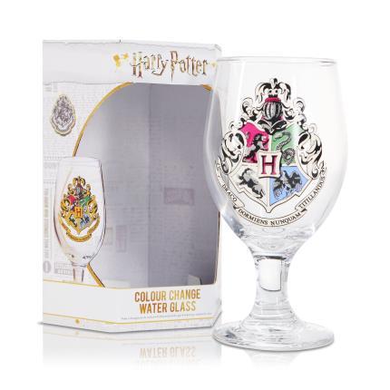 Gadgets & Novelties - Harry Potter Hogwarts Colour Change Glass - Image 1