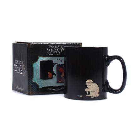 Gadgets & Novelties - Harry Potter Fantastic Beasts Heat Changing Mug - Image 1