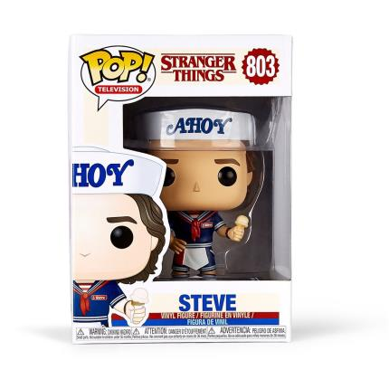 Gadgets & Novelties - Stranger Things Steve Pop Vinyl - Image 3
