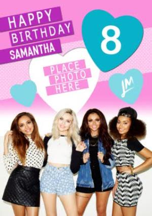 Greeting Cards - 8th Birthday Card - Little Mix - Image 1