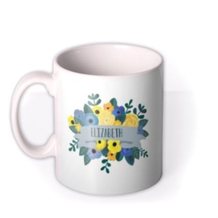Mugs - Floral Mug - Image 1