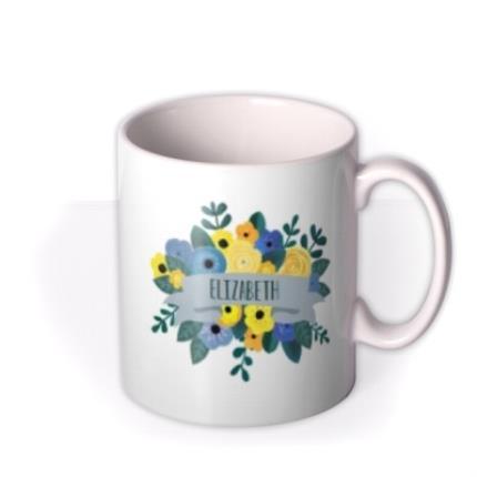 Mugs - Floral Mug - Image 2