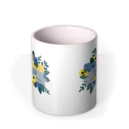 Mugs - Floral Mug - Image 3
