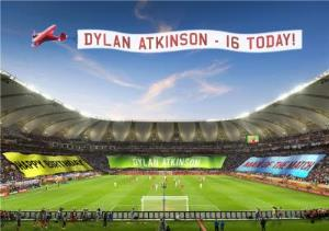 Greeting Cards - 16th Birthday Card - Football Stadium - Image 1
