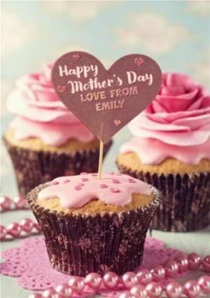 Greeting Cards - Mother's Day Card - Cupcake - Baking - Image 1