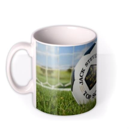 Mugs - Football Net Personalised Mug - Image 1