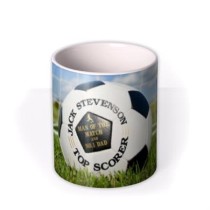 Mugs - Football Net Personalised Mug - Image 3