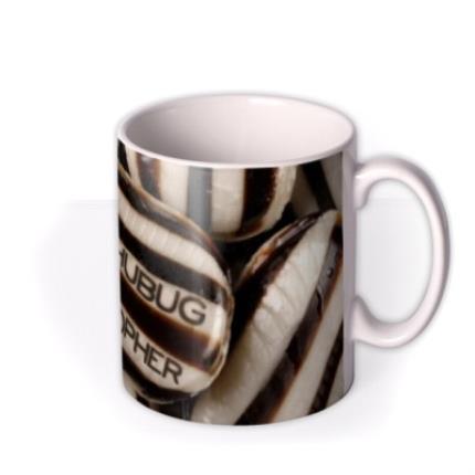 Mugs - Christmas Bah Humbug Personalised Mug - Image 2