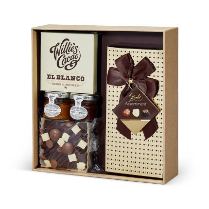 Food Gifts - You Love Chocs Box Gift Hamper - Image 1