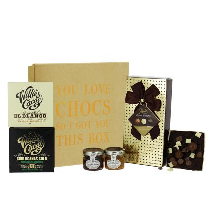 Food Gifts - You Love Chocs Box Gift Hamper - Image 2