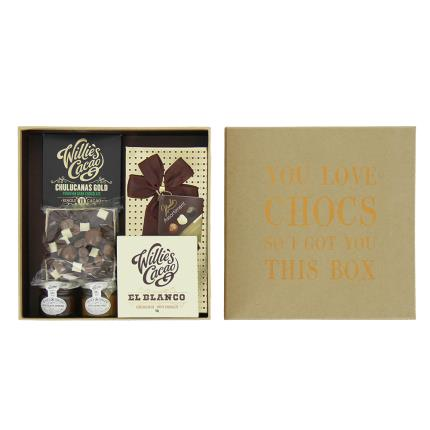 Food Gifts - You Love Chocs Box Gift Hamper - Image 3