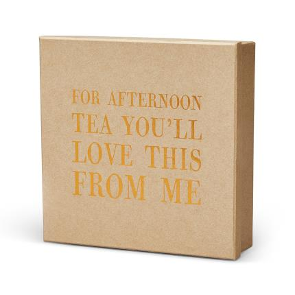 Food Gifts - You Love Afternoon Tea Box Gift Box - Image 2