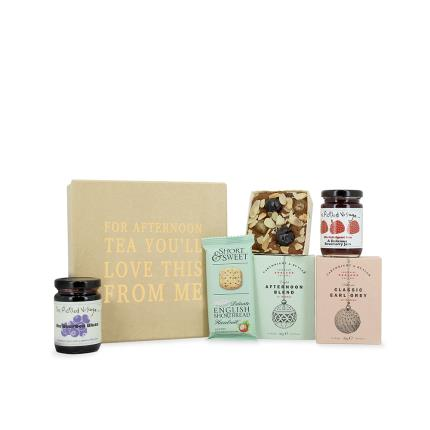 Food Gifts - You Love Afternoon Tea Box Gift Box - Image 3