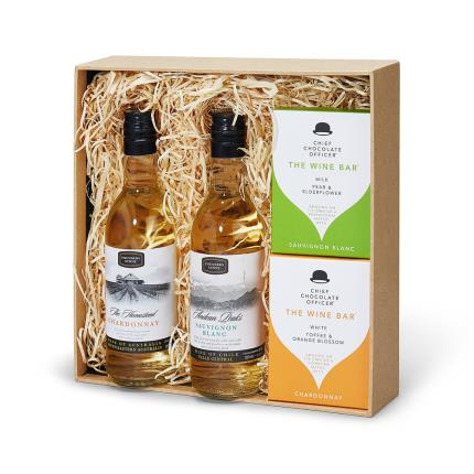 Gift Boxes - You Love Wine Chocolates and White Wine Gift Box - Image 2