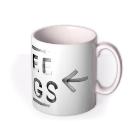 Mugs - Free Hugs Personalised Mug - Image 2