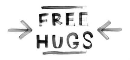 Mugs - Free Hugs Personalised Mug - Image 4