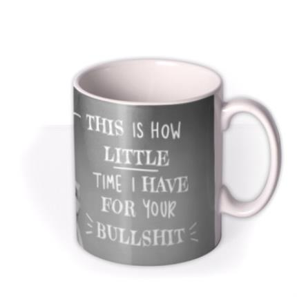 Mugs - Funny this Is How Little Time I Have Retro Mug - Image 2