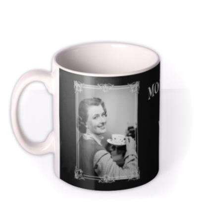Mugs - Funny Mornings Are Easier With Tea Retro Mug - Image 1