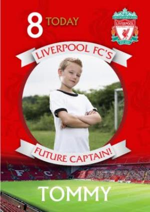 Greeting Cards - Liverpool FC Birthday Card -  Liverpool FC'S Future Captain  - Image 1