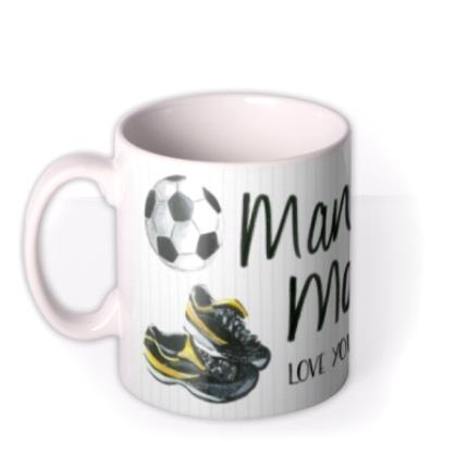 Mugs - Father's Day Man of the Match Personalised Mug - Image 1